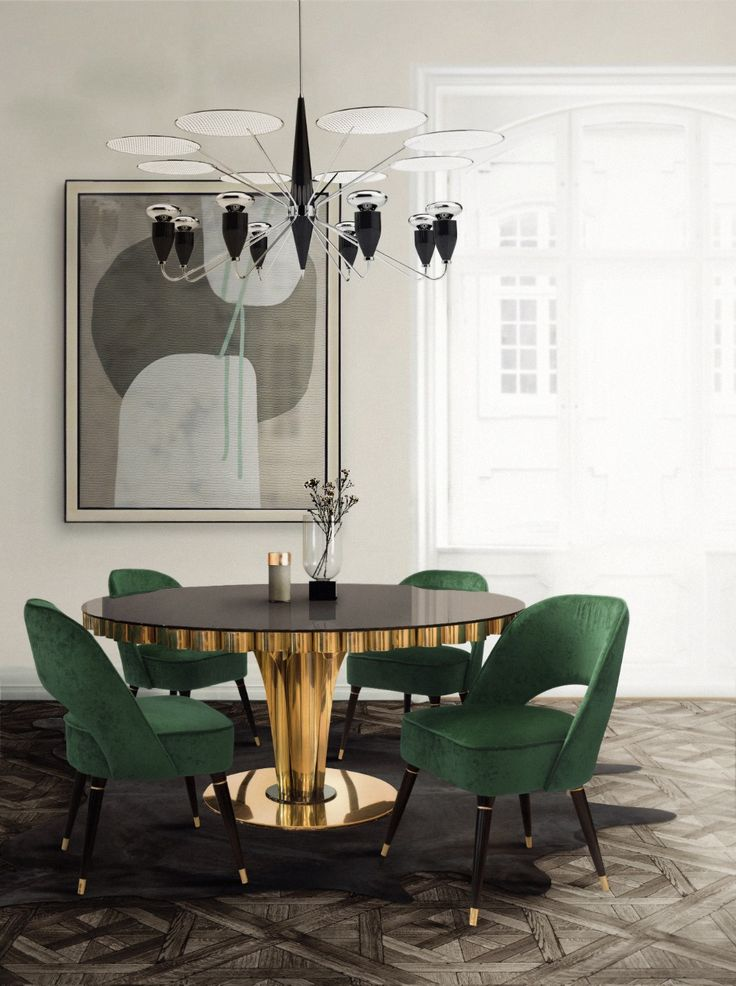 3 Home Decor Trends For Spring Brittany Stager: Mood Board: Emerald Green For A Stylish And Trendy Home