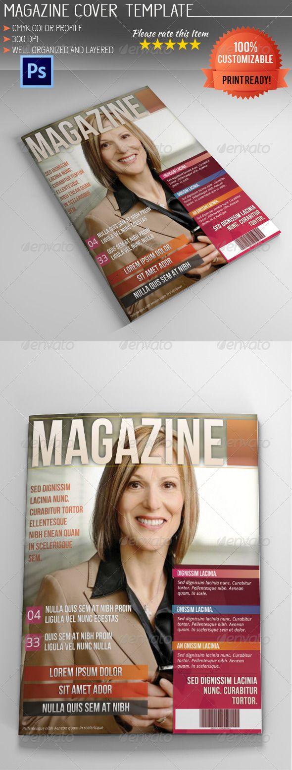 best 25 magazine cover template ideas on pinterest layout design booklet design and magazine. Black Bedroom Furniture Sets. Home Design Ideas