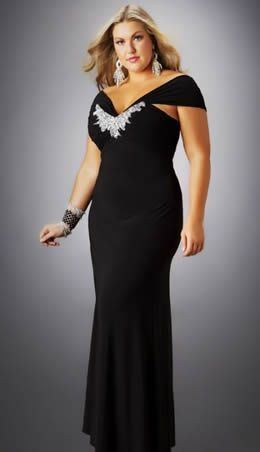 plus size formal dresses 12