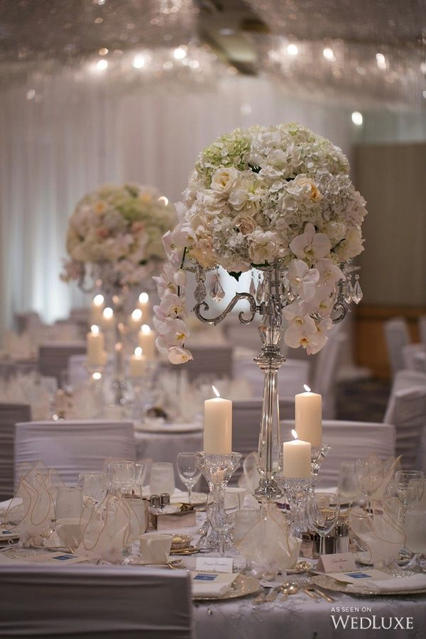 WedLuxe– The Bride Wore Ines Di Santo at this Pan Pacific Hotel Wedding | Photography By: Sweet Pea Photography Follow @WedLuxe for more wedding inspiration!