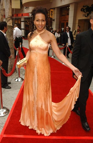 Tamara Tunie during 33rd Annual Daytime Emmy Awards Red Carpet at Kodak Theater in Hollywood California United States