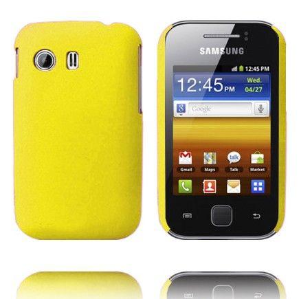 Hard Shell (Keltainen) Samsung Galaxy Y Suojakuori