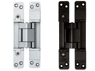 For anyone looking for where you can pickup those concealed door hinges, I have the website where you can order them. Their number is 1-800-562-5267. http://www.sugatsune.com/products/Pr...CTID=HES3D-190