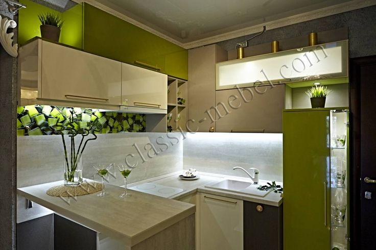 Кухня с выставки, модерн, заказ, Петербург, СПб, фото