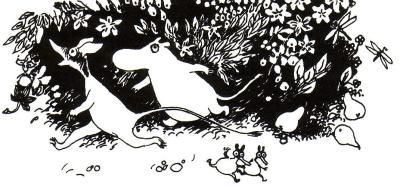 Moomin and Sniff