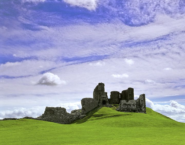 Duffus Castle, Moray, Scotland by Ian Cameron