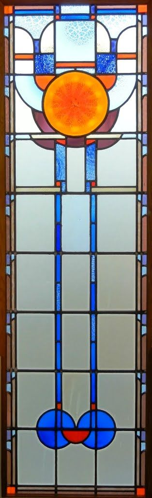 Stained Glass Window, Museum of Glass, Leerdam.