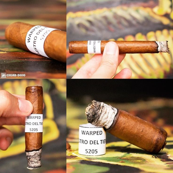 Cigar Review: @warpedcigars new Maestro del Tiempo is the brand's 5th (and best) Nicaraguan puro to date #cigarreview #cigarrating #cigarranking #cigarphotography #cigardojo