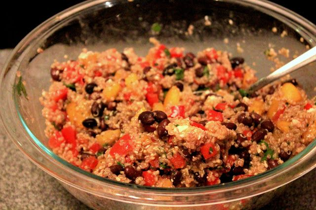 Southwestern quinoa salad from allrecipes ingredients 1 cup quinoa 1