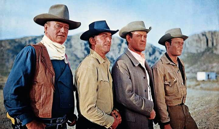 The Sons of Katie Elder: John Wayne, Dean Martin, Earl Holliman, Michael Anderson Jr.