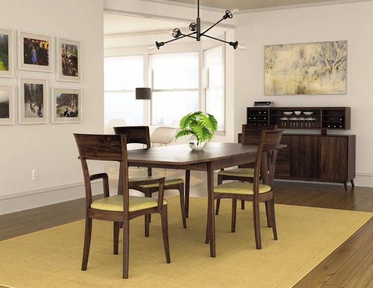 Catalina Dining Room Set In Solid American Walnut Modernwooddining Solidwood Midcenturymodern