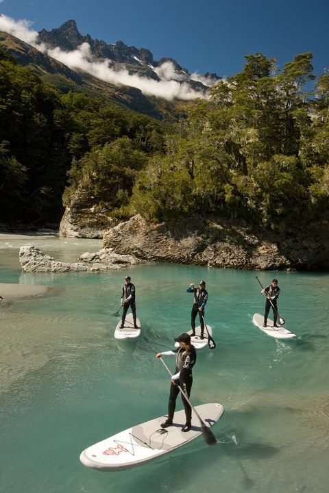 I love SUP!   SUP in New Zealand is on my vision board/bucket list!   New Zealand SUP Boarding