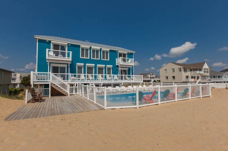 Blue Dolphin is a  House vacation rental located in Virginia Beach, Virginia. Get more information and check availability for this Sandbridge vacation rentals, offered by Sandbridge Realty.