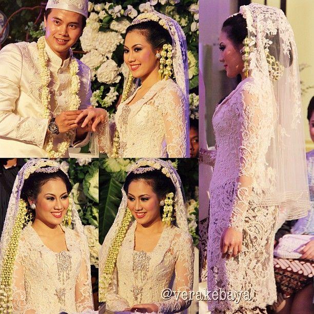 Short Veil Wedding Kebaya Verakebaya IG