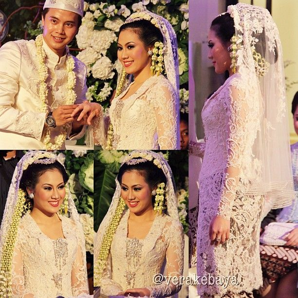 Short Veil Wedding Kebaya Verakebaya IG