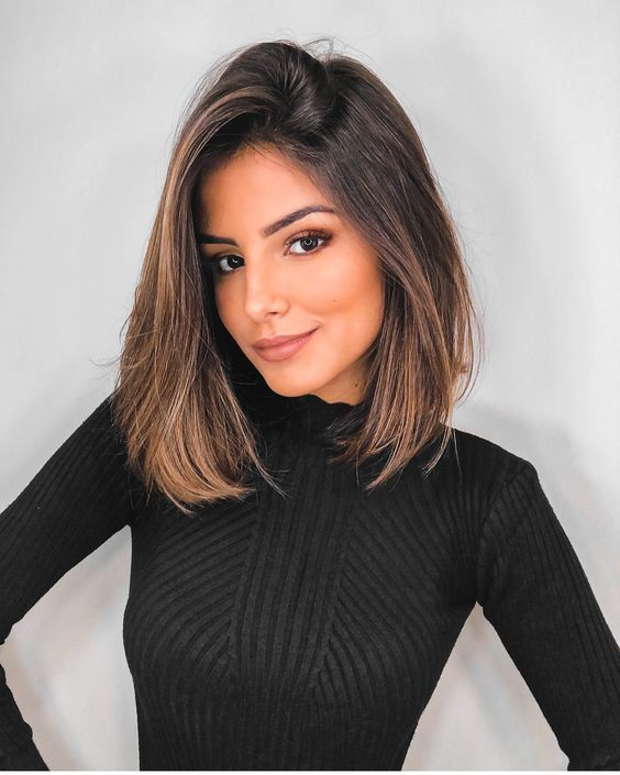 23+ Best medium long straight hair for women in 2019 – Medium Haircuts