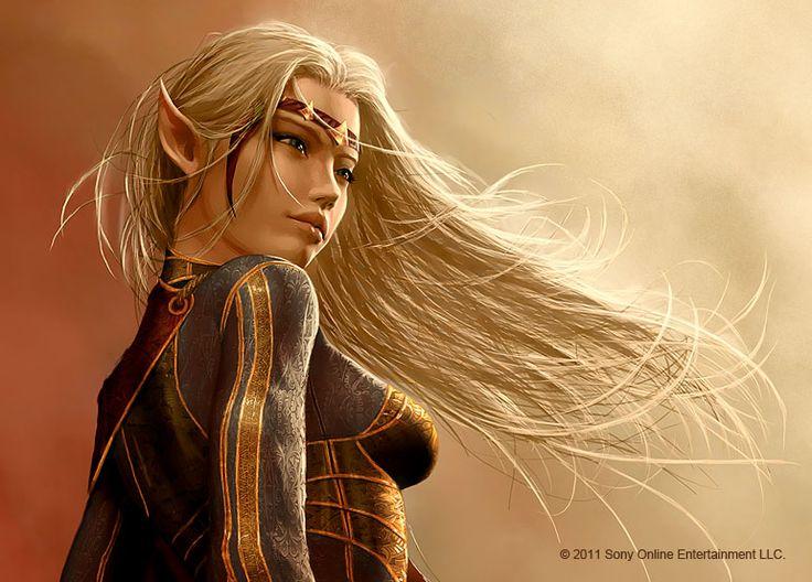 High Elf Female Avatar by Graysun-D.deviantart.com on @deviantART
