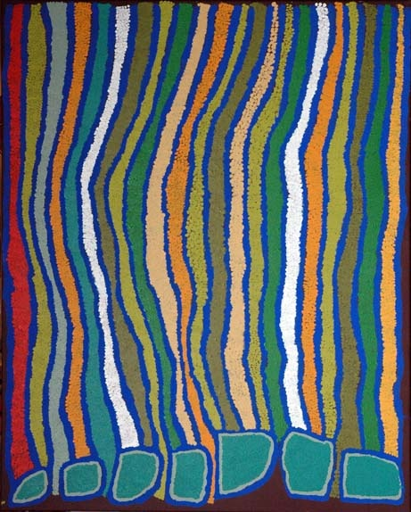 BA lijn/ lijnwerking decoratief (tapijtontwerp Margaret Baragurra)