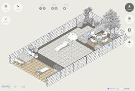 Tuincreator is een gratis webtool die je toelaat om een basisplan van je tuin te ontwerpen.     Inhoud afkomstig van: http://blogs.tijd.be/tzine/2012/04/ontwerp-online-je-eigen-droomtuin.