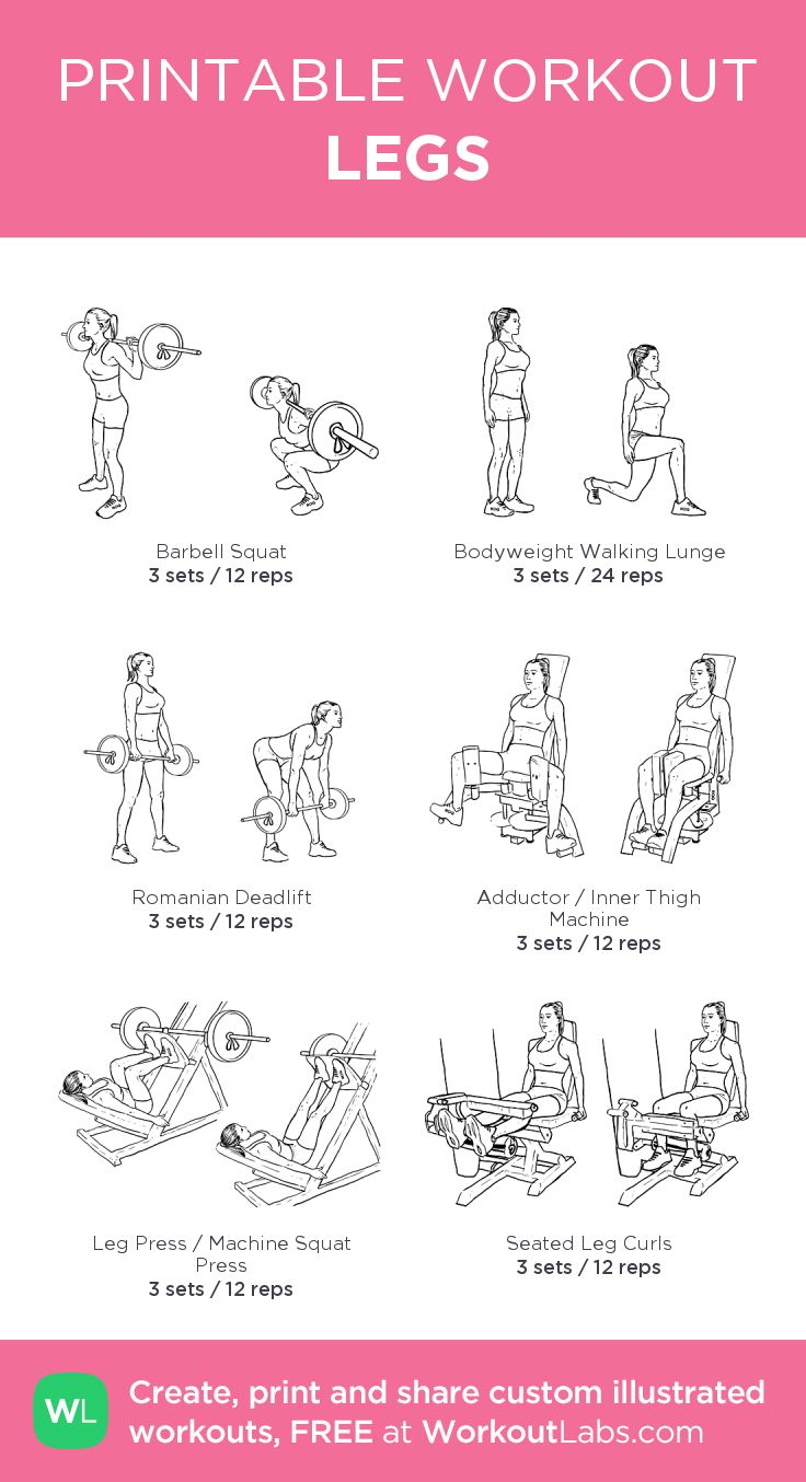 LEGS:my visual workout created at WorkoutLabs.com • Click through to customi… – salue* muscles, sports…