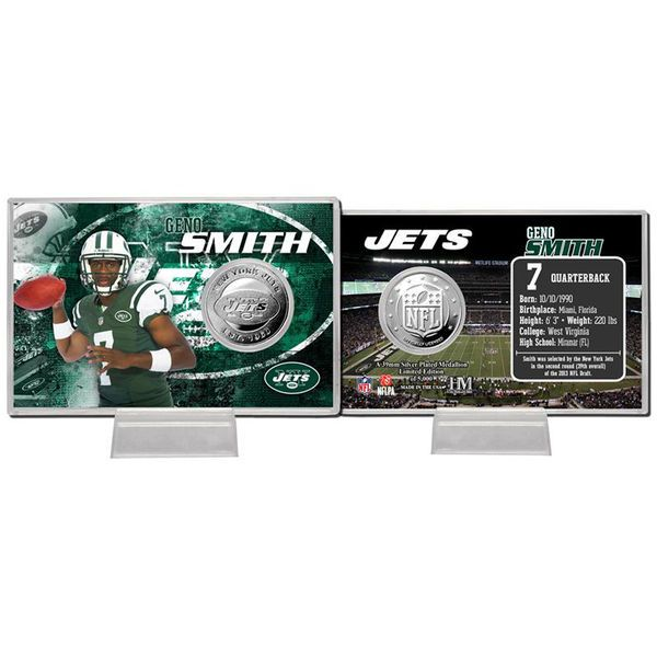 Geno Smith New York Jets Player Coin Card - $11.99