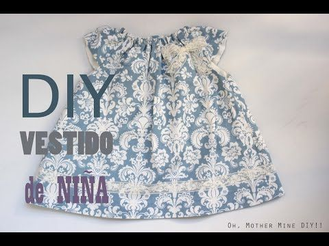 Blog costura y diy: Oh, Mother Mine DIY!!: DIY Costura: Cómo hacer vestido de niña con el cuello rizado (patrones gratis)