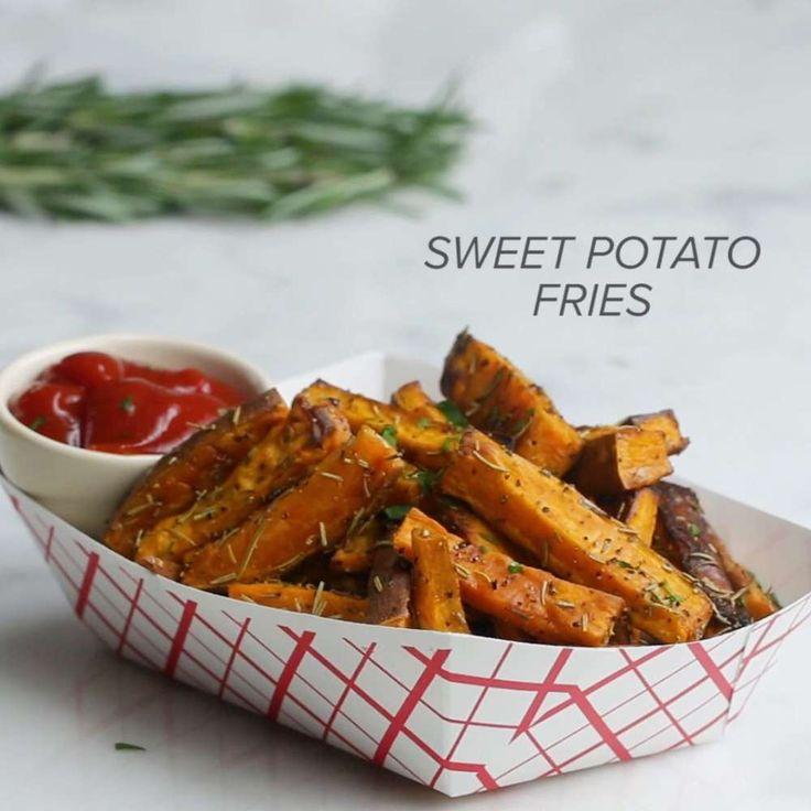 Sweet Potato Fries Recipe by Tasty