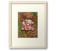 """""""Mr Fox"""" by I Love the Quirky - Framed Print. Available in a variety of frame styles and colours."""