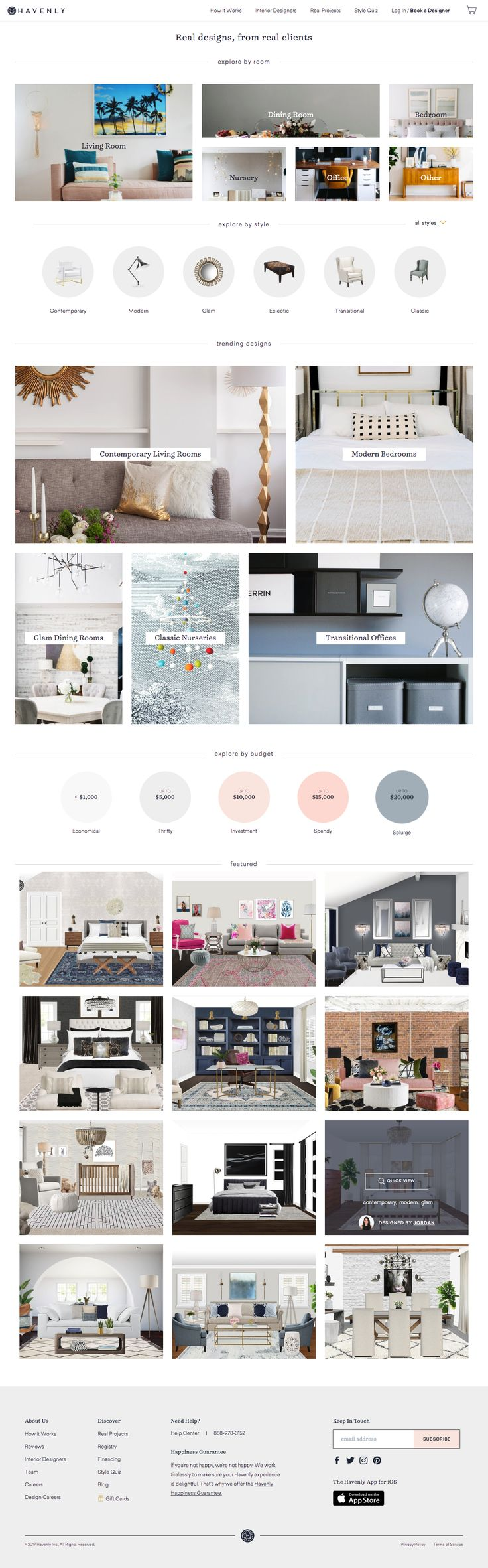 Interior Design & Decorating Ideas | Havenly | Awesome Screenshot