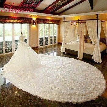 Alibaba グループ   AliExpress.comの ウェディング ドレス からの HQ032 Elegant Wedding Decoration foamflower Rose Bridal bouquet White Satin Romantic Wedding bouquet Flowers BrideUSD 11 中の HQ059豪華なaラインvネックドレスボールガウンアップリケレースの大聖堂の列車のウェディングドレス