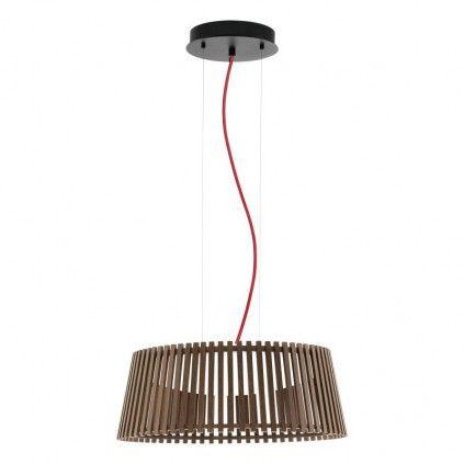 EGLO Wood ROVERATO LED Hängeleuchte 470mm