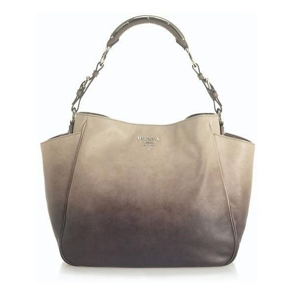 If I only had to own ONE bag for the rest of my life...Prada Ombre Shopper Tote.
