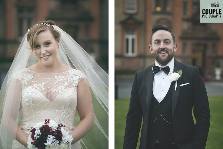 Gorgeous portraits of the bride & groom. Weddings at Thomas Prior Hall, The Clayton Hotel by Couple Photography.