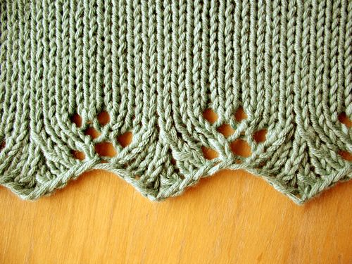 185 best images about Knitting - edgings - borders on Pinterest Cable, Knit...