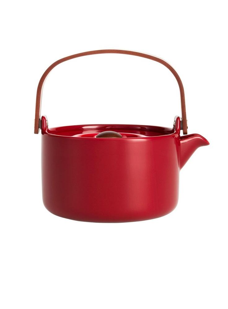 Dear Santa Claus, I wish for this redMarimekko`s teakettle :)