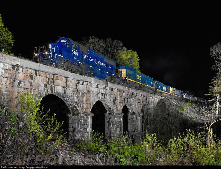 RailPictures.Net Photo: MEC 3404 Pan Am Railways EMD SD40-2 at Bernardston, Massachusetts by Gary Knapp