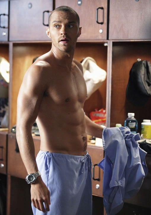 Oh the men of Grey's Anatomy :) Can't get enough of that Avery look... Jesse Williams <3