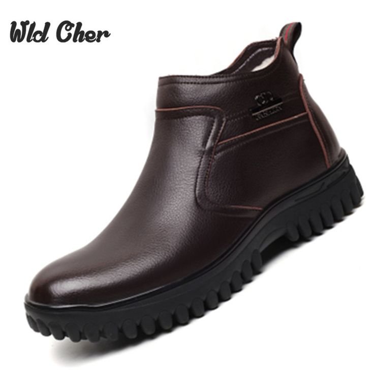 41.61$  Buy now - http://alipr0.shopchina.info/1/go.php?t=32788536591 - 2017 fashion warm Genuine Leather boots comfortable men winter boots,quality ankle boots men winter shoes,brand snow boots 41.61$ #buyininternet