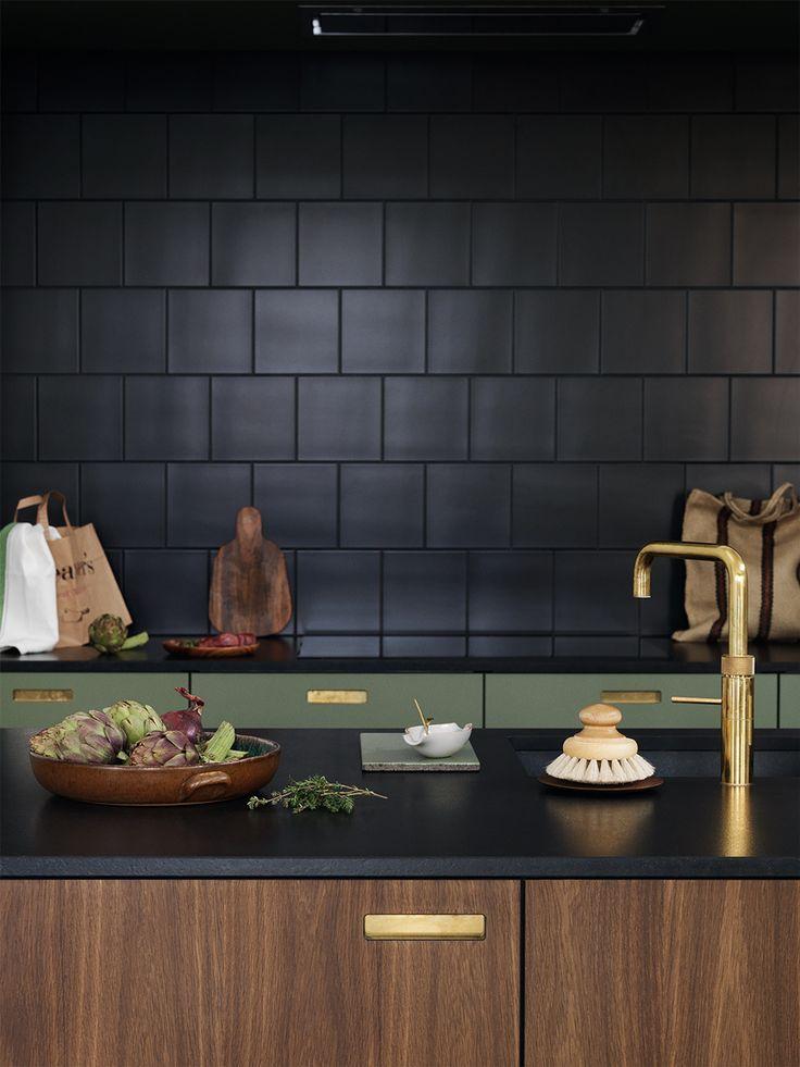 Rubinetti neri per la cucina gucki kitchen interior ikea kitchen kitchen dining for Ikea rubinetti cucina