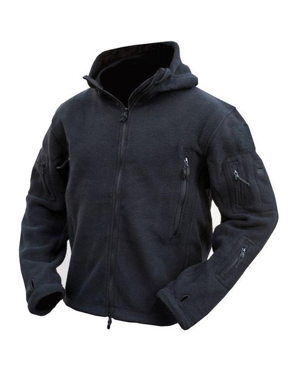 recon hoodie fleece tactical TAD black