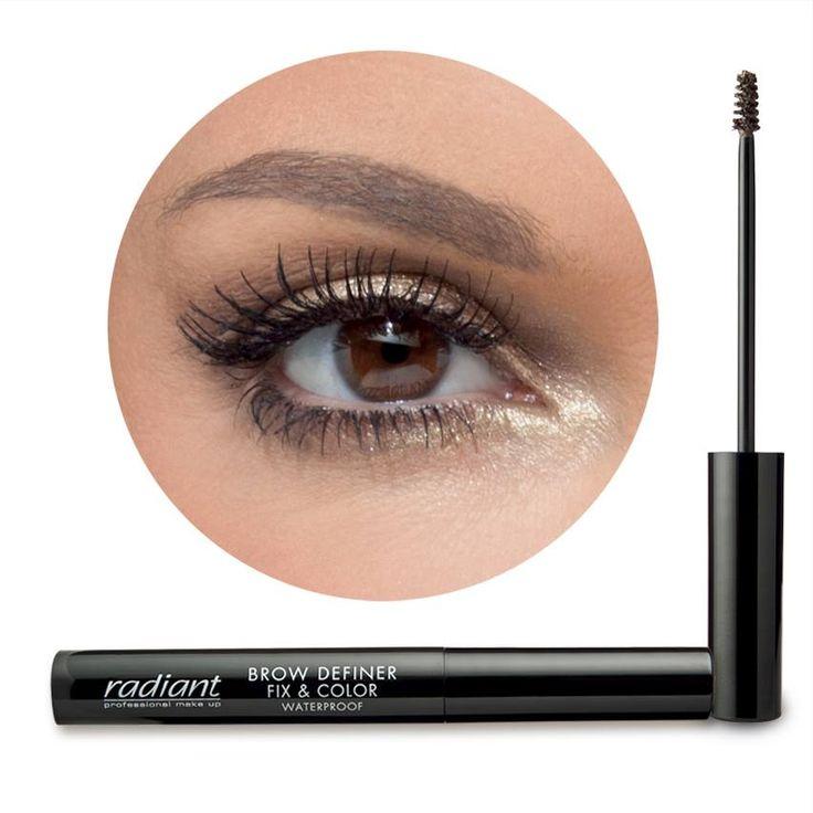 BROW DEFINER FIX & COLOR   Radiant Professiona Make Up #Radiant #professional #makeup #eyebrows #eyes