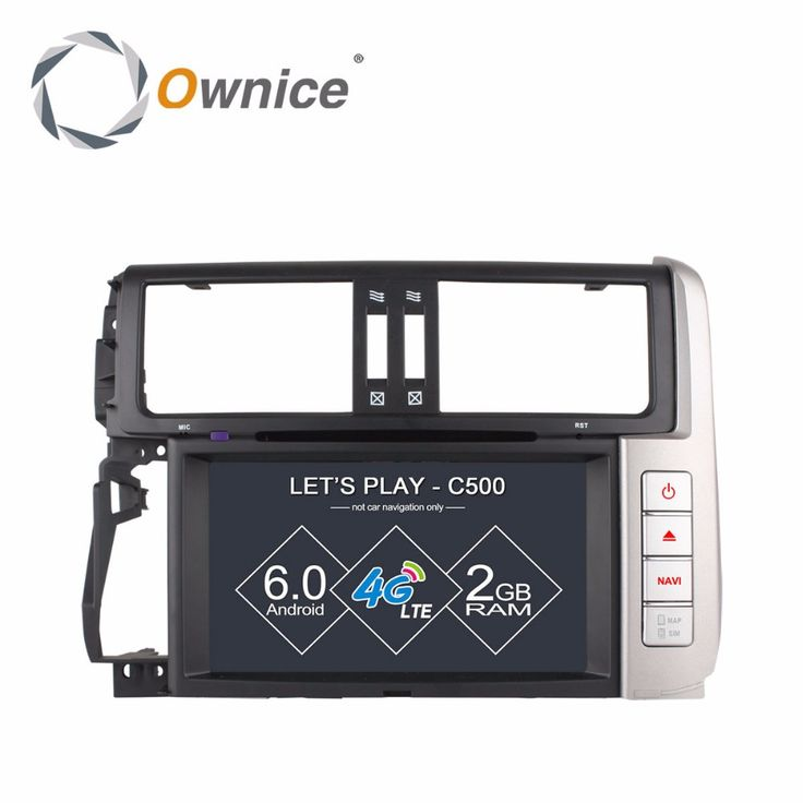 Ownice C500 HD 1024X600 Android 6.0 Car DVD player GPS for Toyota Prado 150 Land Cruiser Quad Core Radio wifi support 4G DAB+