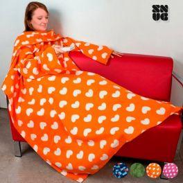 Cobertor Snug Snug extra suave com mangas para adultos | Padrões originais
