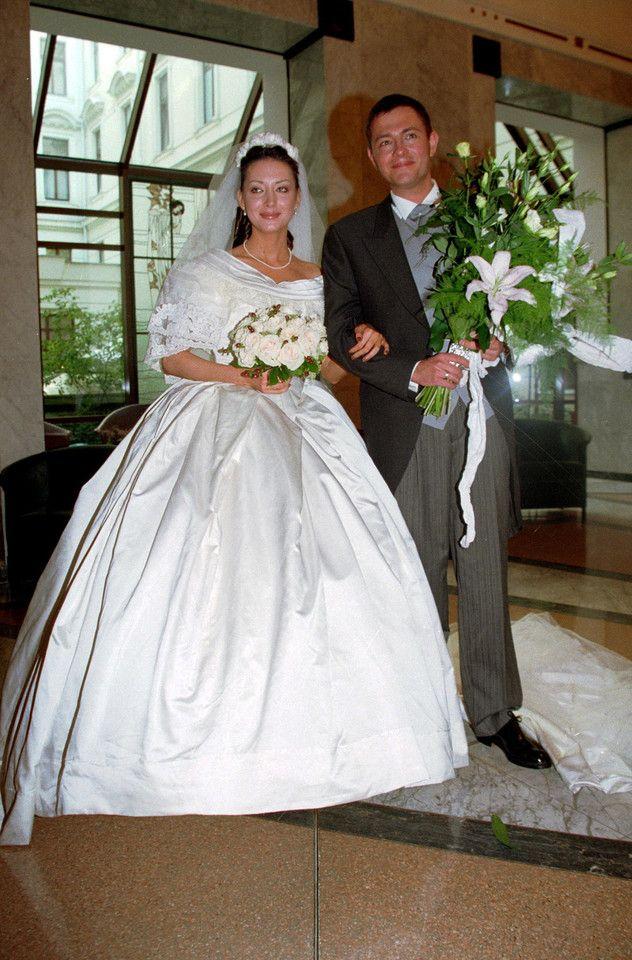 Ślubne zdjęcia gwiazd Krzysztof Ibisz i Anna Zejdler - ślub w 1998