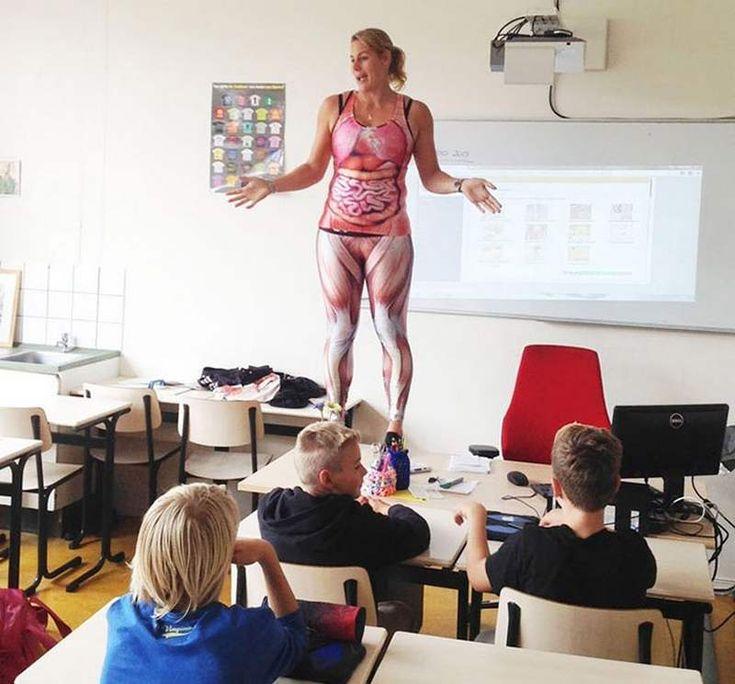Humiliating Nude Anatomy Lesson