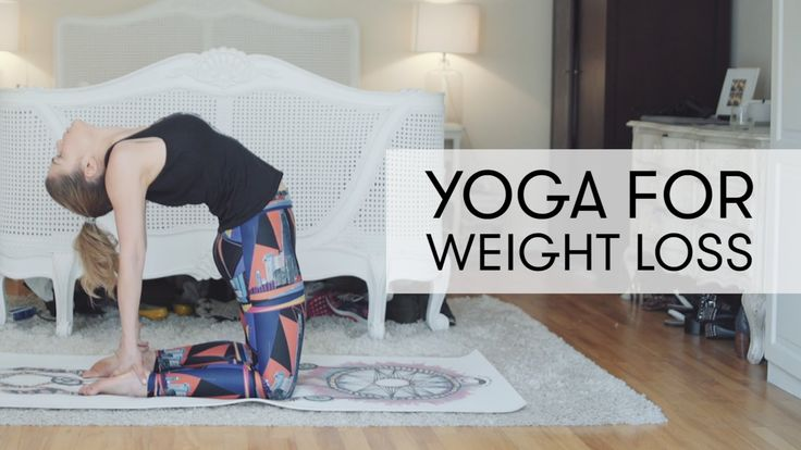 Yoga Practice for Weight Loss - 20 minutes | Madeleine Shaw