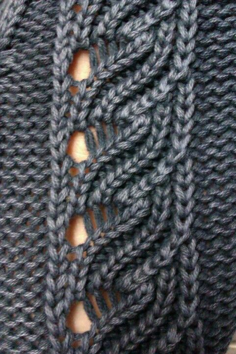 Knitted Cable Stitch