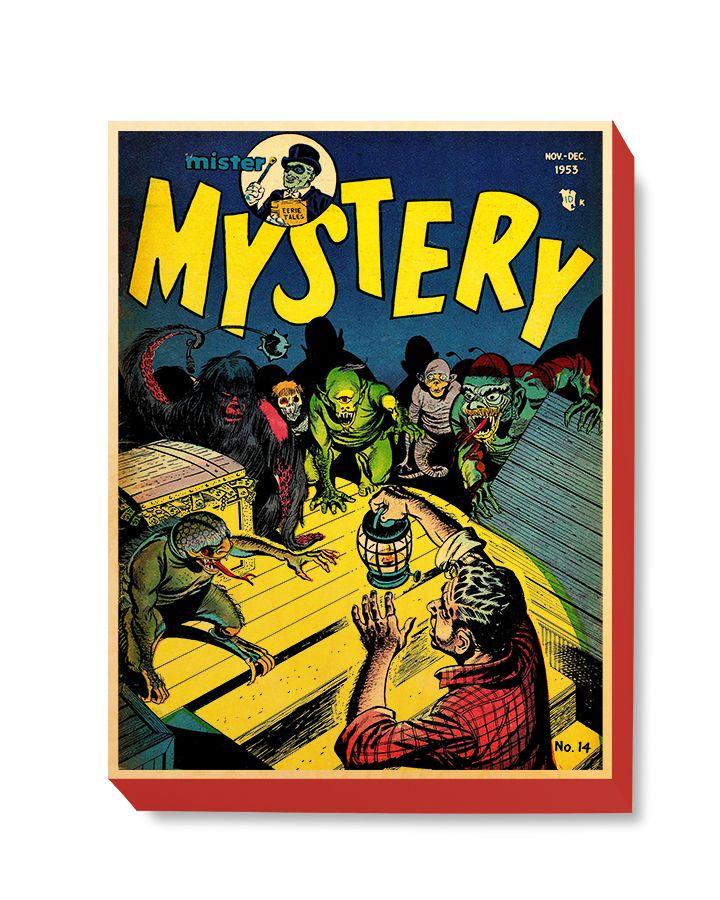 HOR 018 Horror Comic Cover - Mystery Lizards