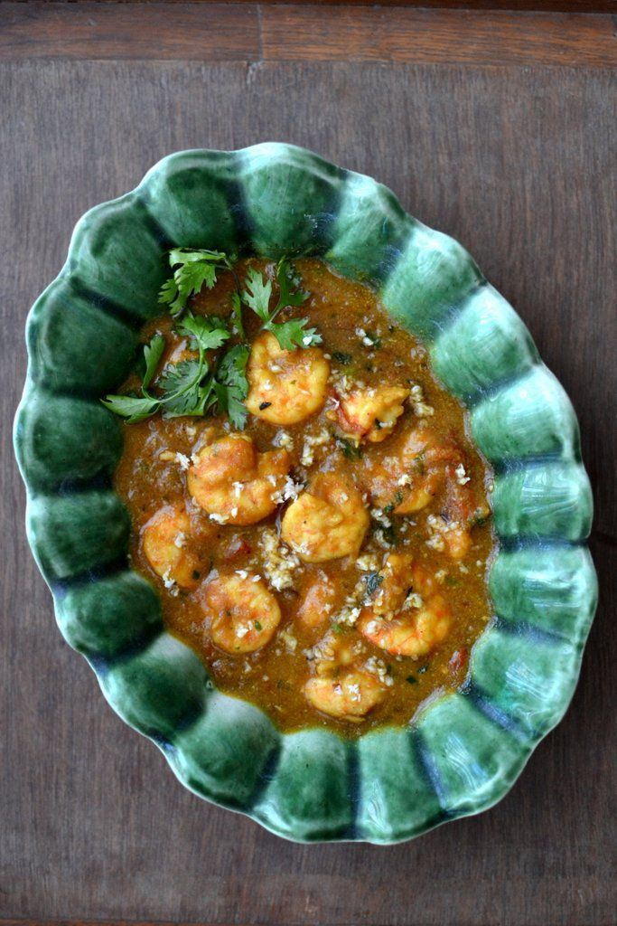 Fresh from the Bombay Sea: South Indian Prawn Korma - Spice in the City