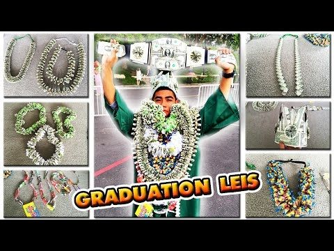 2017 HOW TO MAKE A MONEY LEI | NEW FLAT CHAIN STYLE | TUTORIAL | GRADUATION CORD | 1080p60 - YouTube